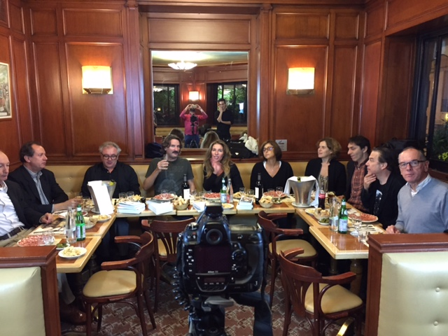 Deuxième réunion des jurés du Prix de Flore, mercredi 14 octobre 2015